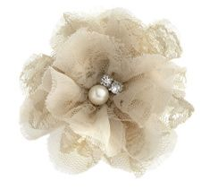 Fabric Flower Wrist Corsages