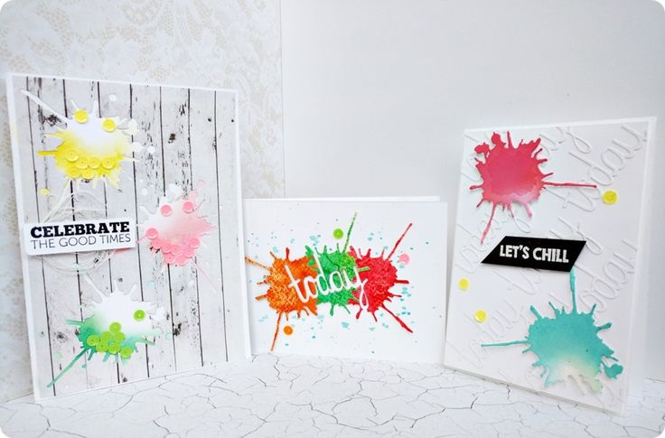 colour splash cards