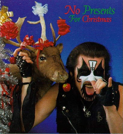 King Diamond, no presents for Christmas