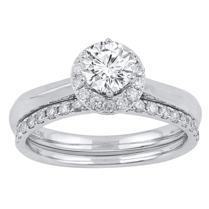 Love by Michelle Beville 18ct White Gold 1/2ct of Diamond Solitaire Ring. Available in stores or online - 9B12000