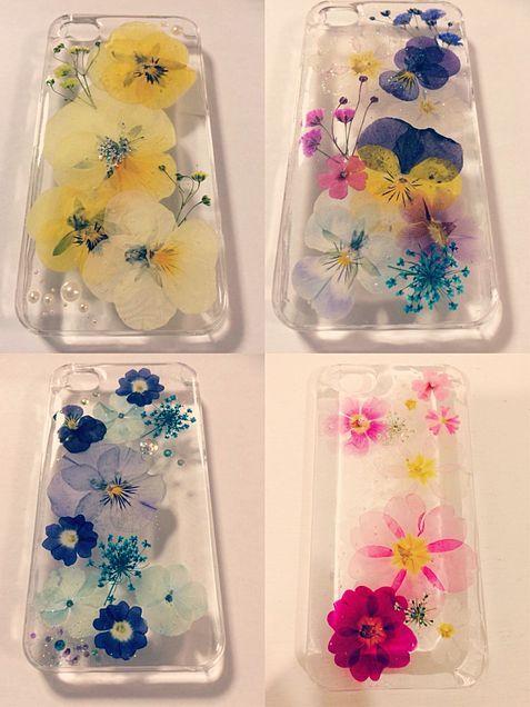 手作り 押し花のiPhoneケースの画像 プリ画像