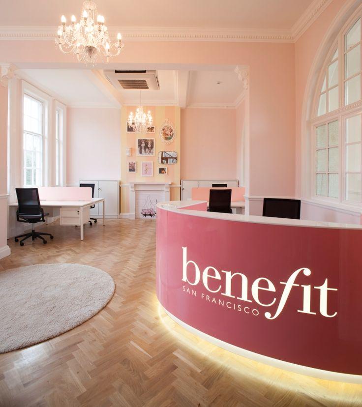Benefit Cosmetics Reception counter