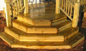 Deck Corner Stairs Design | best deck stair design your stair design needs to do