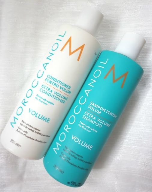 Color Me with Beauty: Review: MOROCCANOIL Sampon si Balsam pentru volum