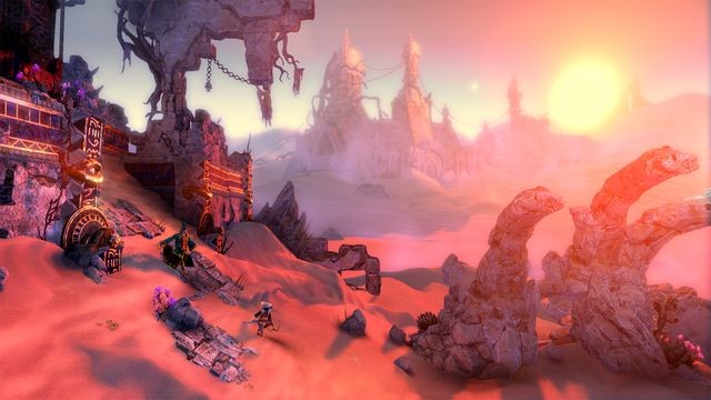 What Does it Mean That Some Wii U Games Run in 1080p, and Should I Care?: The very pretty game Trine 2: Director's Edition runs in native 1080p.