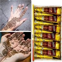 Home   Henna Natural Jet Black Plant Henna Tattoo Paste Into The Dark Deluxe Edition of India Authentic