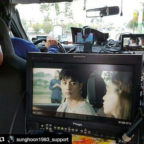 33 個讚,1 則留言 - Instagram 上的 Debbie Moh(@debbie_moh):「 #Repost @sunghoon1983_support ・・・ #sunghoon #KimSoEun BTS new movie & director said all shootings… 」