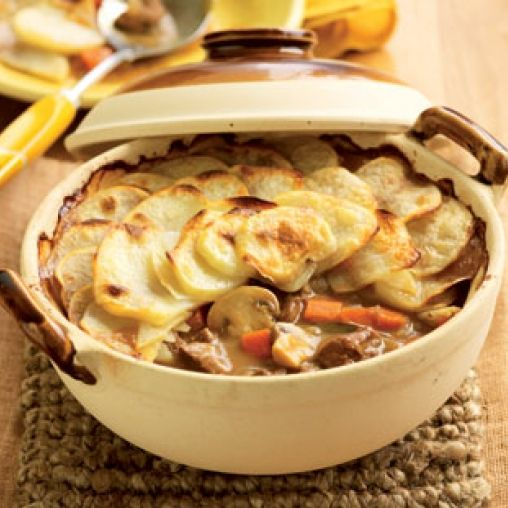 Lancashire hot pot  Calories:  330cal Protein:  29g