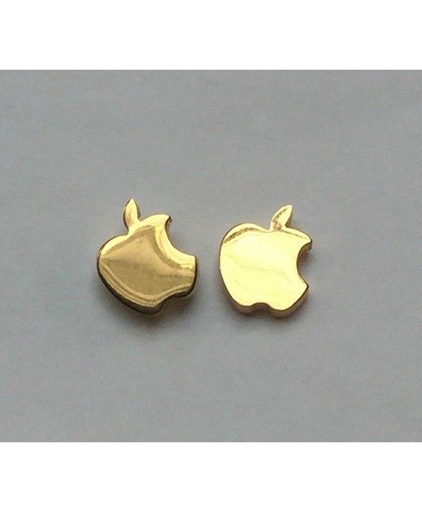 723d88937 Earrings, Stud, Gold Apple Stud Earrings Teacher Appreciation Gift  Stainless Steel - C0182ZNS8HC #Earrings #fashion #style #jewelry  #Studearrings