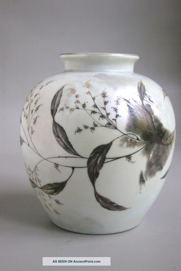 52 best vases pottery images on pinterest jars vase and vases rosenthal porcelain iridescent art deco vase signed by fritz stockmayer vases photo reviewsmspy