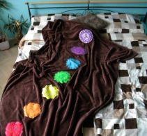 Marela - Čakrová meditační deka | Originální těhotenská móda