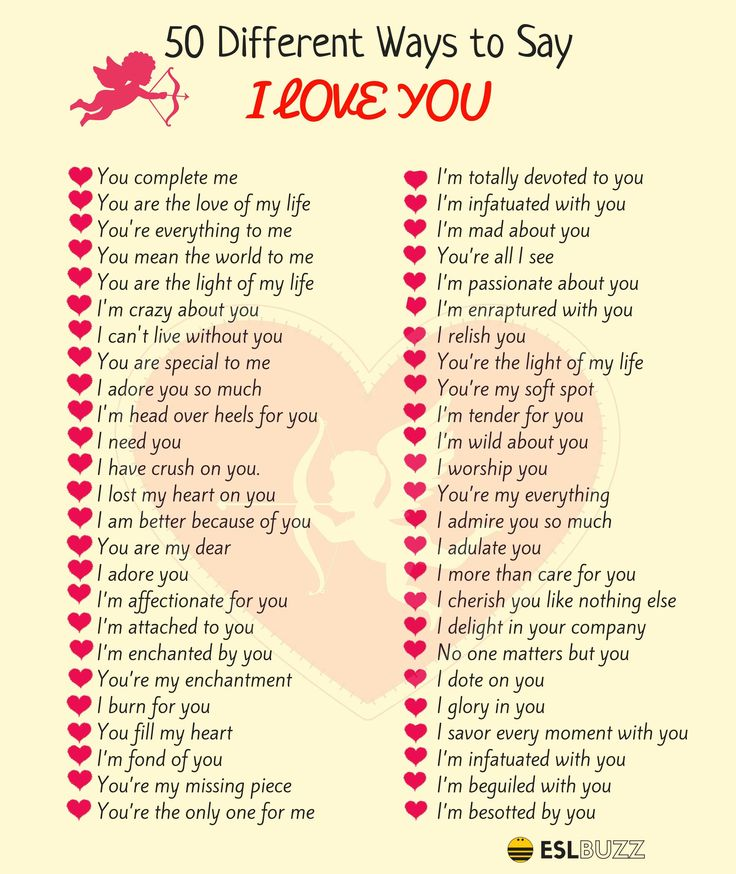 100 beautifully romantic ways to say i love you learn