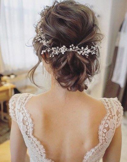 Bridal Hair Clip Models - Bridal Hairpins 2019 - Model