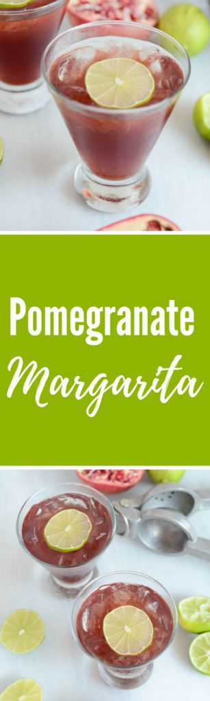 Pomegranate Margarita | CaliGirlCooking.com