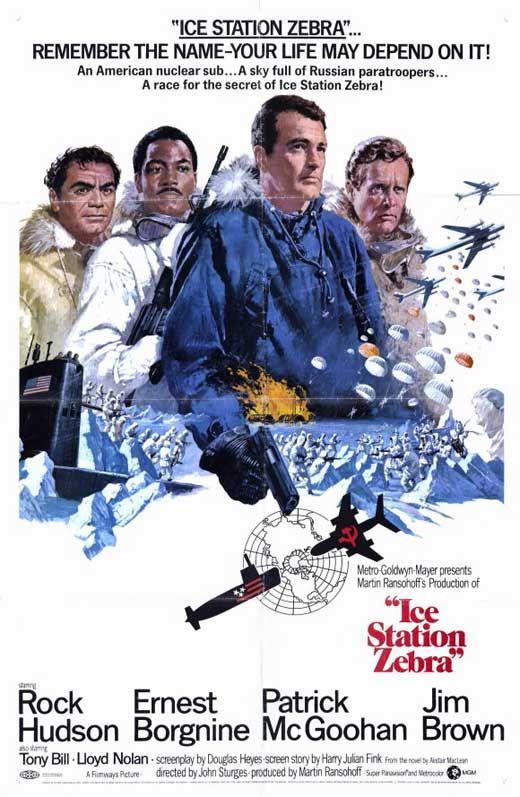 Ice Station Zebra (1968). Premiered 23 October 1968