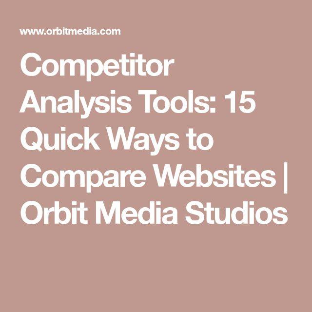 The 25+ best Competitor analysis ideas on Pinterest D company - competitive analysis sample