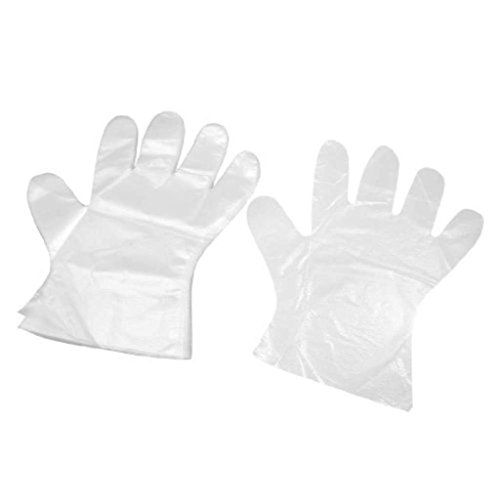 ROYALS Transparent Plastic Gloves (300pcs) | Cleaning Gloves Cleaning Supplies Home Improvement | Best news and deals!