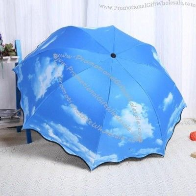 Buy Blue Sky and Clouds Foldable #Umbrella at Wholesale Price
