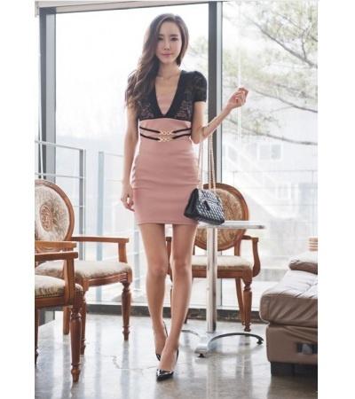 Pekné šaty s čipkou