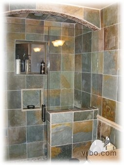 Slate Shower Rustic Decorating Pinterest Slate