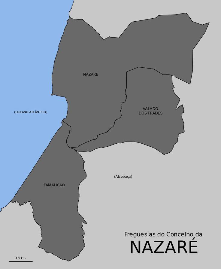 Freguesias do concelho da Nazaré