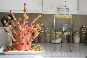 melon cake, also zucchini cake