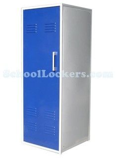 Metal Kids Room Locker - eclectic - toy storage - by School Lockers