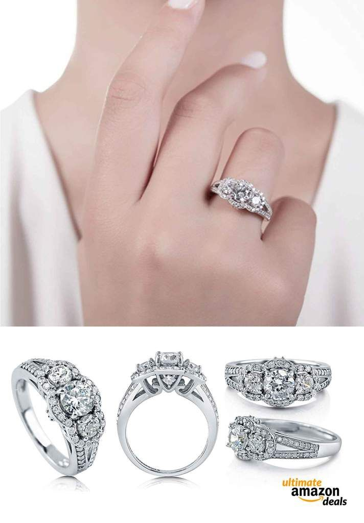 21 Engagement Rings Under 500 You Won T Believe You Can Order From Amazon Engagement Rings Under 500 Engagement Rings Engagement Rings Affordable