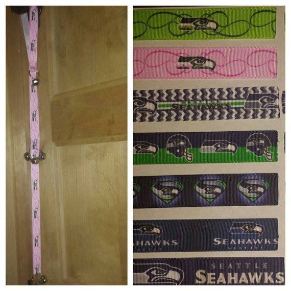 Check out this item in my Etsy shop https://www.etsy.com/listing/500486598/seattle-seahawks-got-to-go-potty-bells