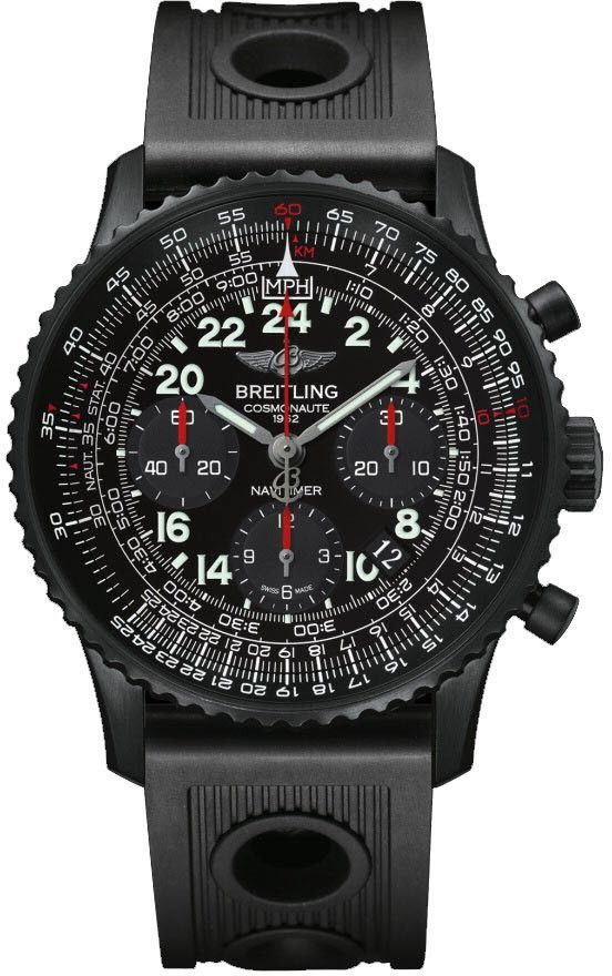 @breitling  Watch Navitimer Cosmonaute Limited Edition #bezel-bidirectional #bracelet-strap-rubber #brand-breitling #case-depth-13-85mm #case-material-black-pvd #case-width-43mm #chronograph-yes #date-yes #delivery-timescale-call-us #dial-colour-black #gender-mens #limited-edition-yes #movement-manual #new-product-yes #official-stockist-for-breitling-watches #packaging-breitling-watch-packaging #subcat-navitimer #supplier-model-no-mb0210b6-bc79-200s-m20dsa-2 ...