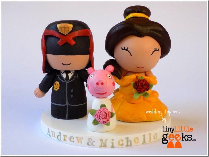 Loki Wedding Cake Topper