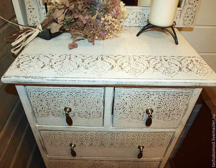 Декор мебели с помощью