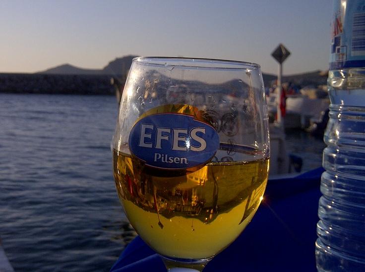 Efes beer & bodrum