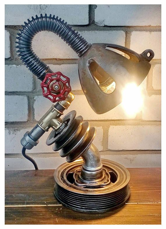 Lamp vintage Industrial style lamp Bedside table lamps Rustic