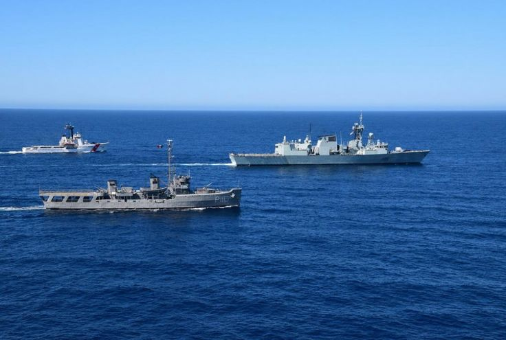 Her Majesty's Canadian Ship (HMCS) Winnipeg is patroling in the Eastern Pacific as part of Operation CARIBBE 2015, Canada's contribution to the multinational campaign against transnational criminal organizations in the Pacific Ocean and Caribbean. HMCS Winnipeg's deployment marks the beginning of several naval and air deployments under Operation CARIBBE scheduled for 2015.The Canadian Armed Forces (CAF) have conducted Operation CARIBBE since November 2006