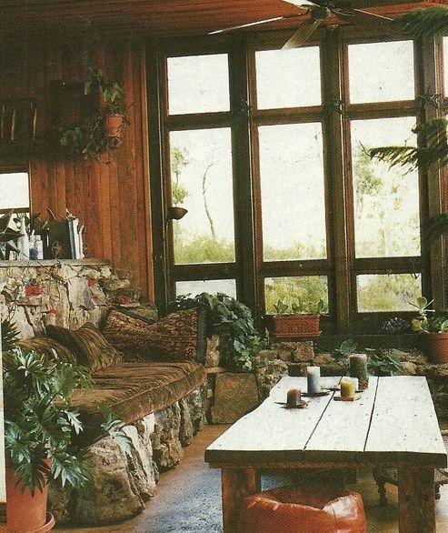 Bohemian Homes: Daryl Hannahs Home