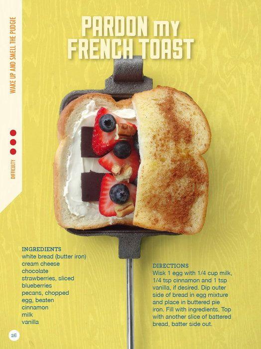 Cookbook offers creative pudgie pie combinations