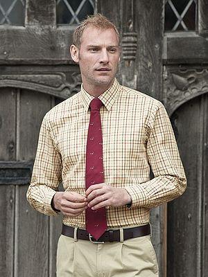Long Sleeve Tattersall Shirt - Cumbria