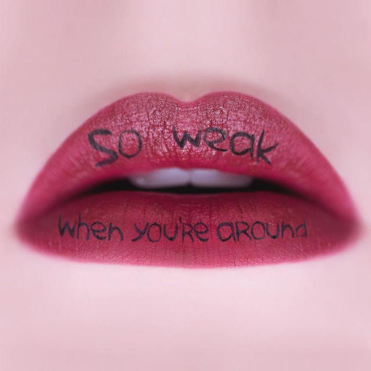 """""""Weak When Ur Around"""" by blackbear"""