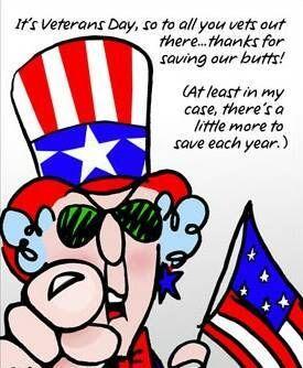 maxine patriotic cartoons | Veterans Day Maxine Thanks Patriotic Flag Stars Stripes LOL Funny ...