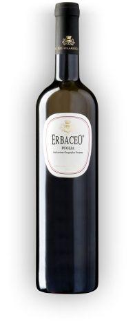 Erbaceo è il vino bianco dal colore giallo paglierino con riflessi verdolini. Si accosta benissimo a frutti di mare, minestre e piatti a base di legumi.