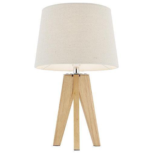 Tesco direct: Tripod Table Lamp Wood
