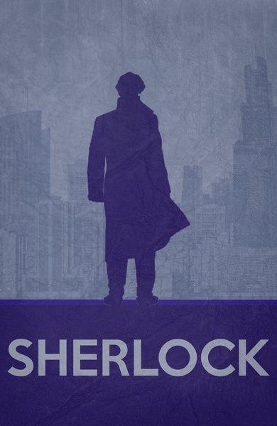 Sherlock Poster 01 Art Print