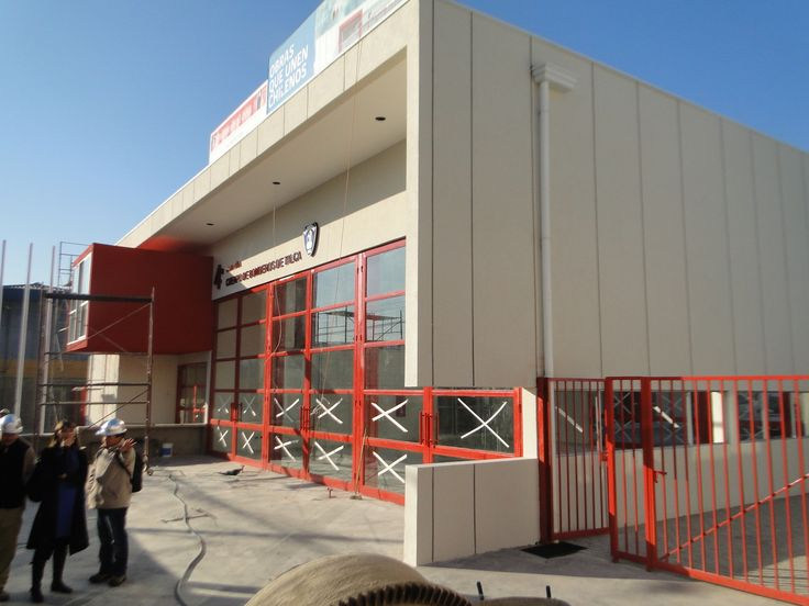 Fire Station, 4 Compañia de Bomberos de Talca