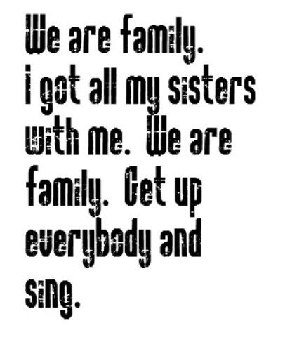 directioners- We are family! You are my sisters and brothers and I love you all.