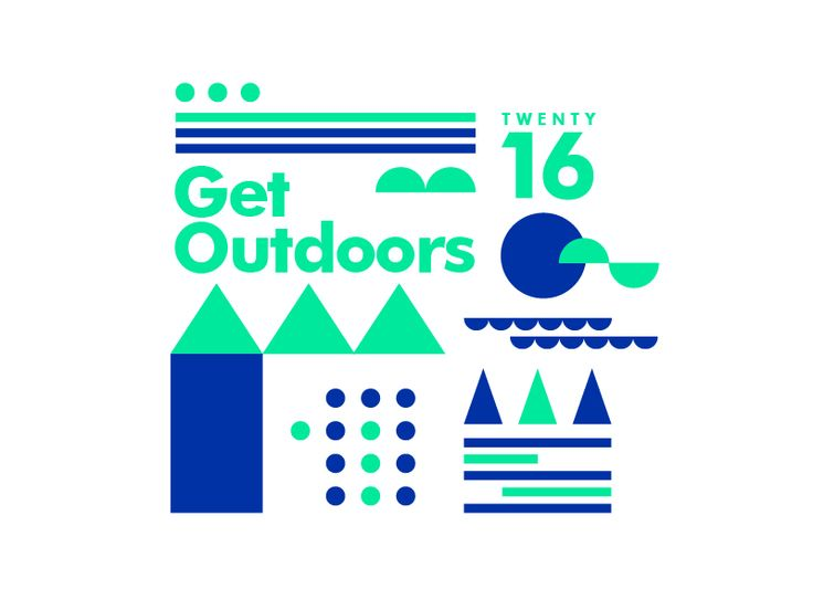 ∆ Get Outdoors ∆ by ∆ Studio–JQ ∆