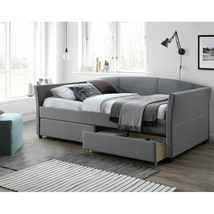 Brayden Studio Eleni Twin Daybed With Trundle Reviews Wayfair