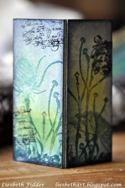 Liesbeth's Arts & Crafts: Slide mailer