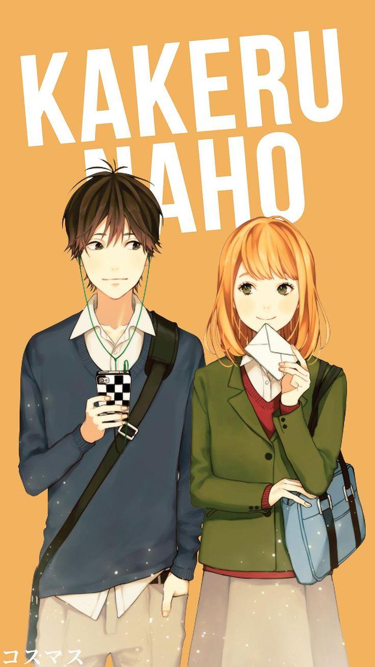Kakeru x Naho ~ Korigengi | Wallpaper Anime