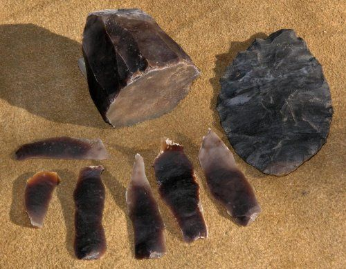 Here's How To... Make an Arrowhead. Flintknapping is the making of flaked or chipped stone tools. This technology was used in historic times to manufacture gun flints and in prehistoric times to make spear and dart points, arrow heads, knives, scrapers, blades, gravers, perforators, and many other tools.